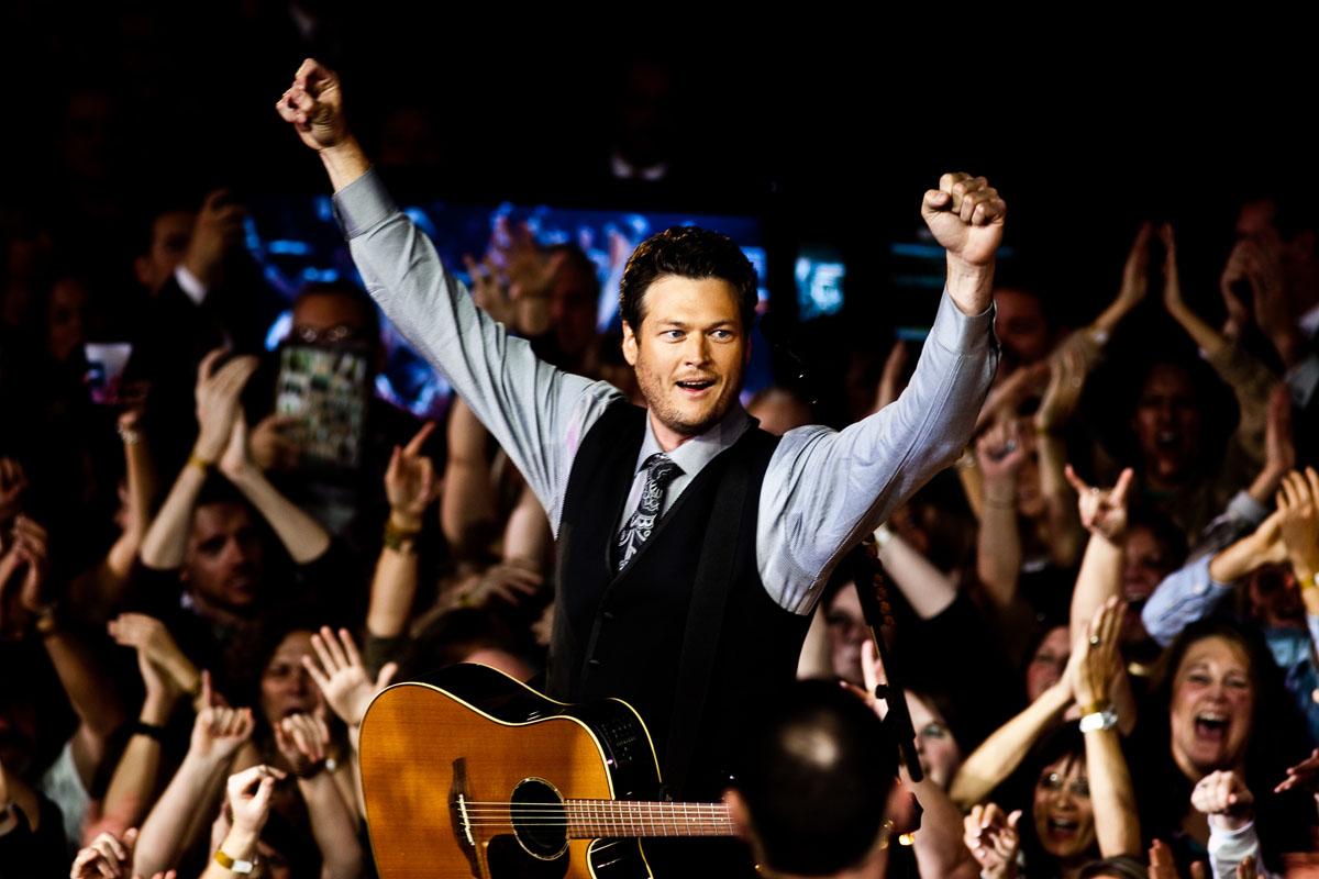 Blake Shelton | CMA Awards | Nashville Photographer | Country Music Photographer | Sara Kauss
