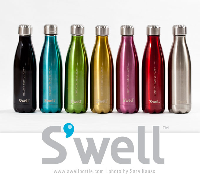 Swell Bottle With Logo Arts Arts