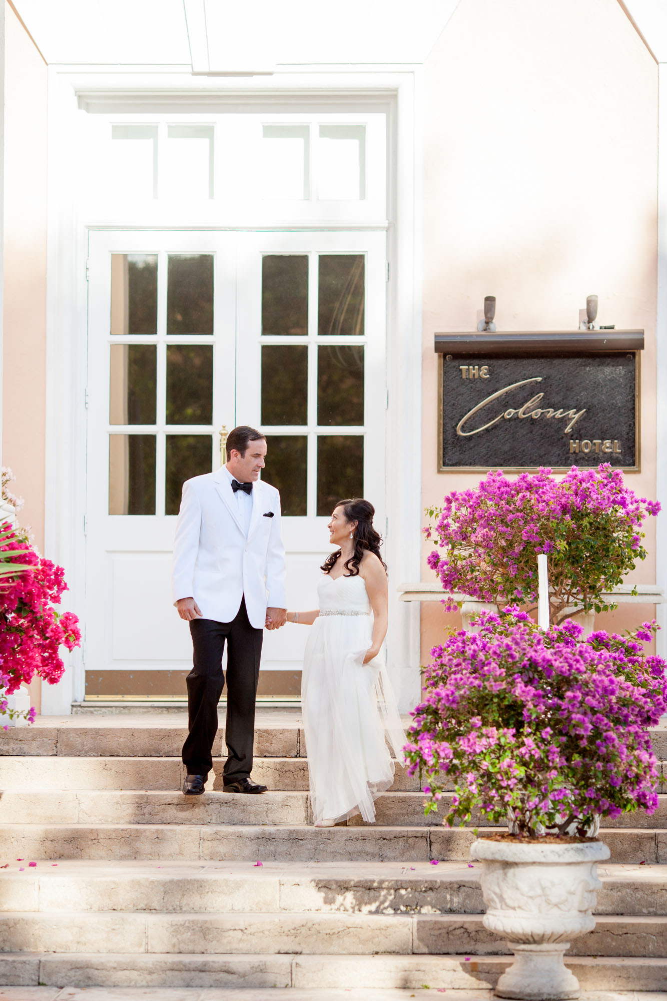 colony palm beach wedding rob and nhu