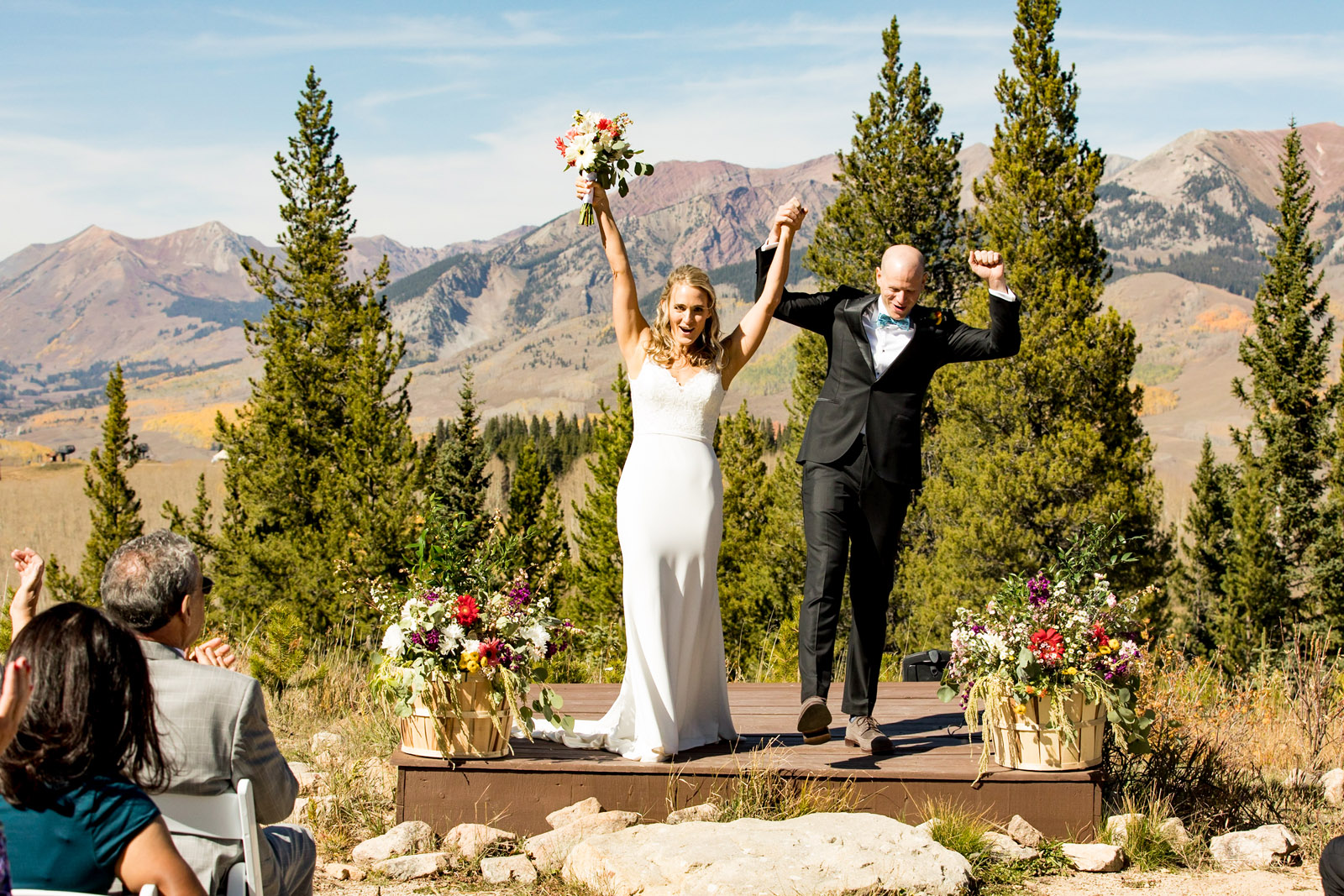 Crested Butte Wedding | Colorado Mountain Wedding by Sara Kauss Photography