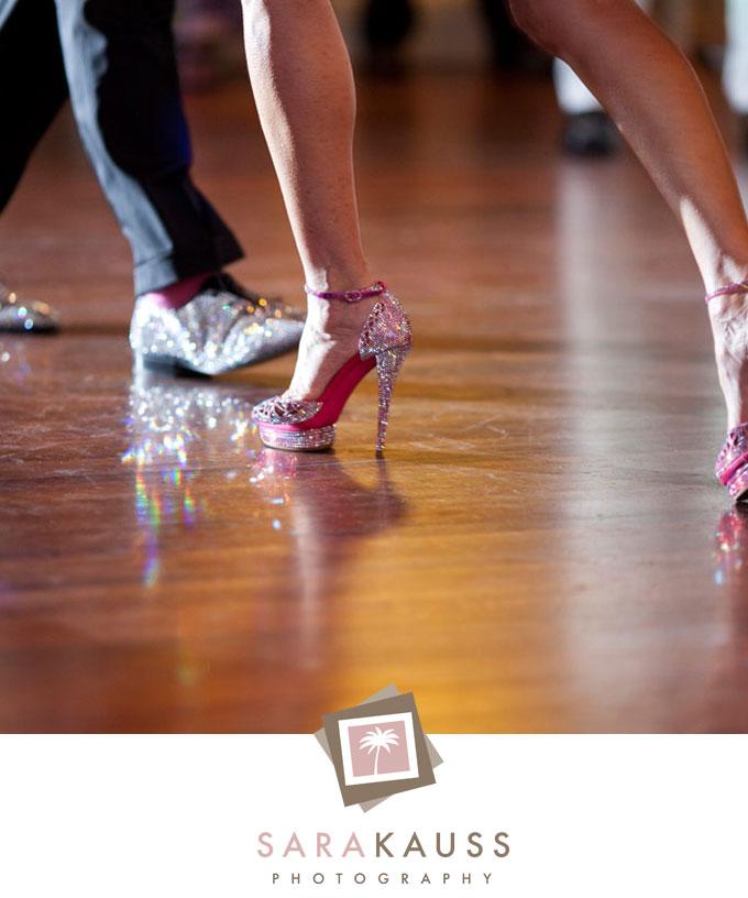 Ballroom Dancing Wedding Shoes Tag