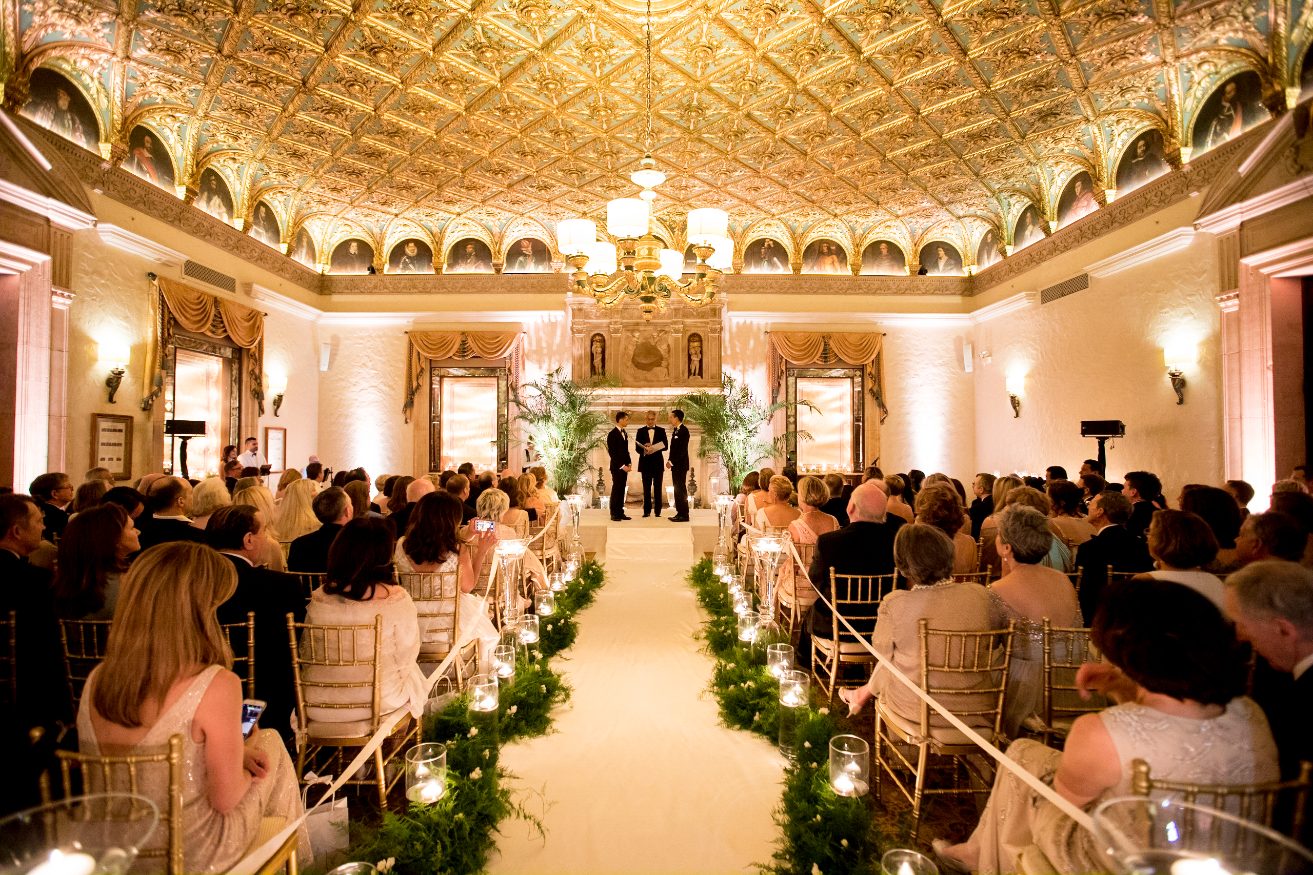 Breakers Palm Beach Wedding The Gold Room Ceremony Sara Kauss Photography