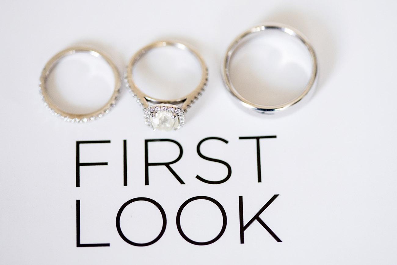 First Look | First Look Wedding Photos by Sara Kauss Photography