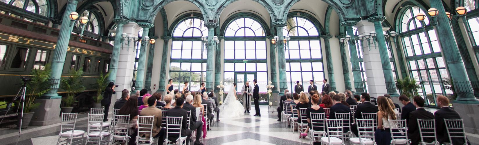 Flagler Museum Weddings | Sara Kauss Photography