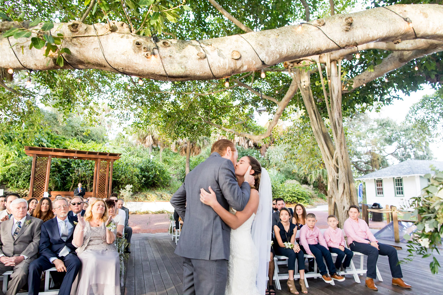 Jupiter Lighthouse Wedding | Out Of The Blue Waterfront Wedding by Sara Kauss Photography