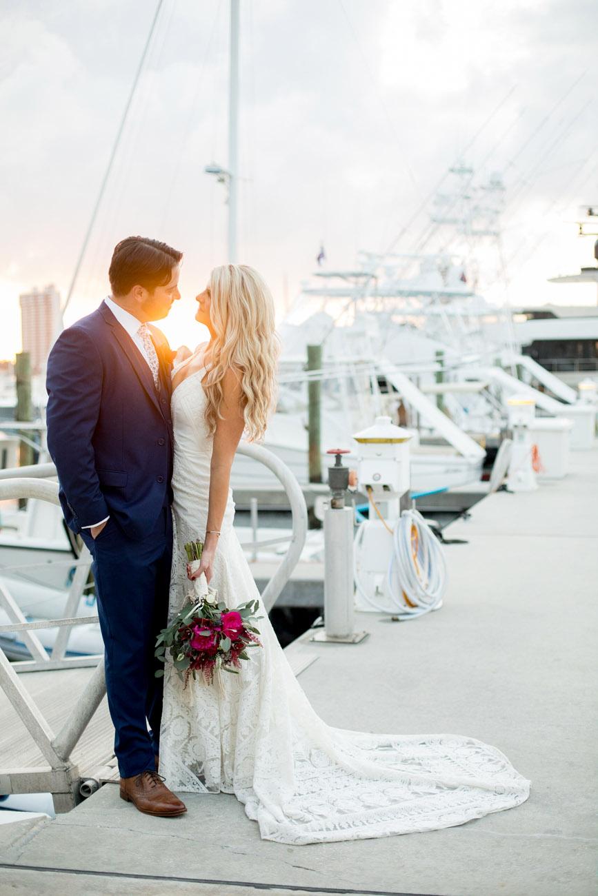Palm Beach Wedding by Sara Kauss Photography
