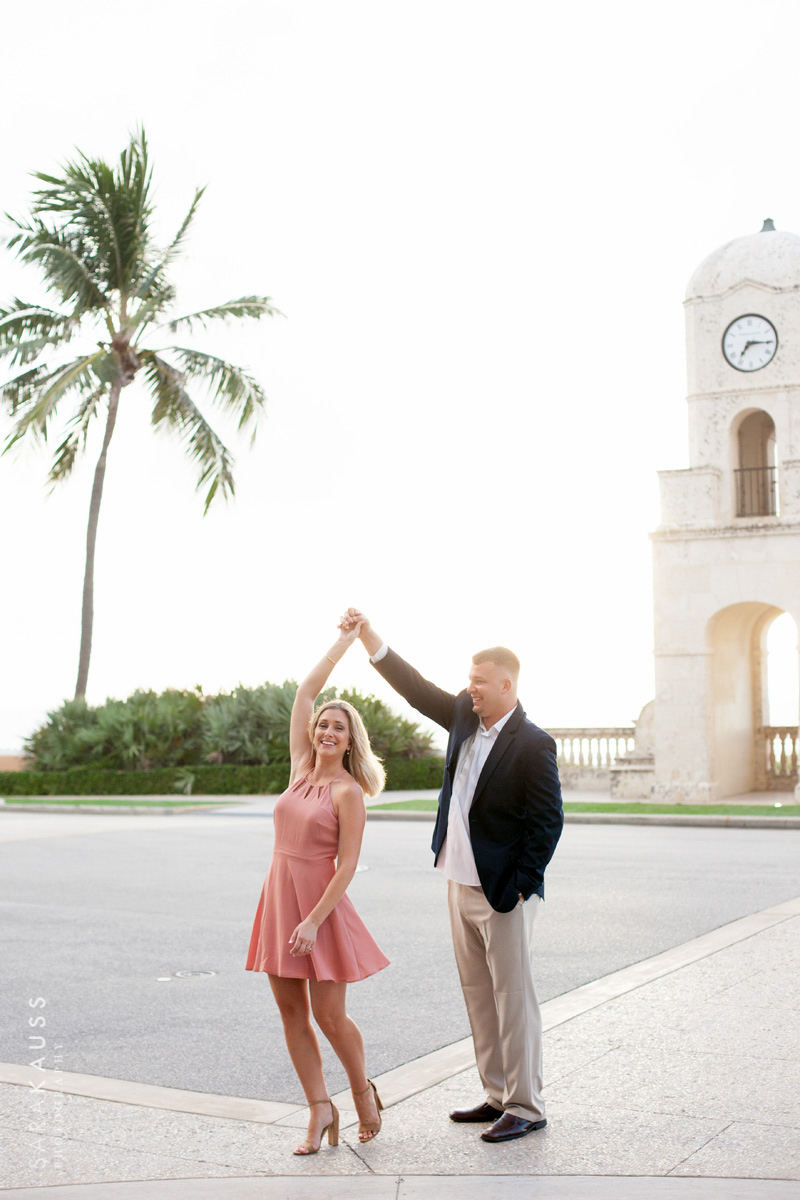 Palm Beach Engagement | Sara Kauss Photography