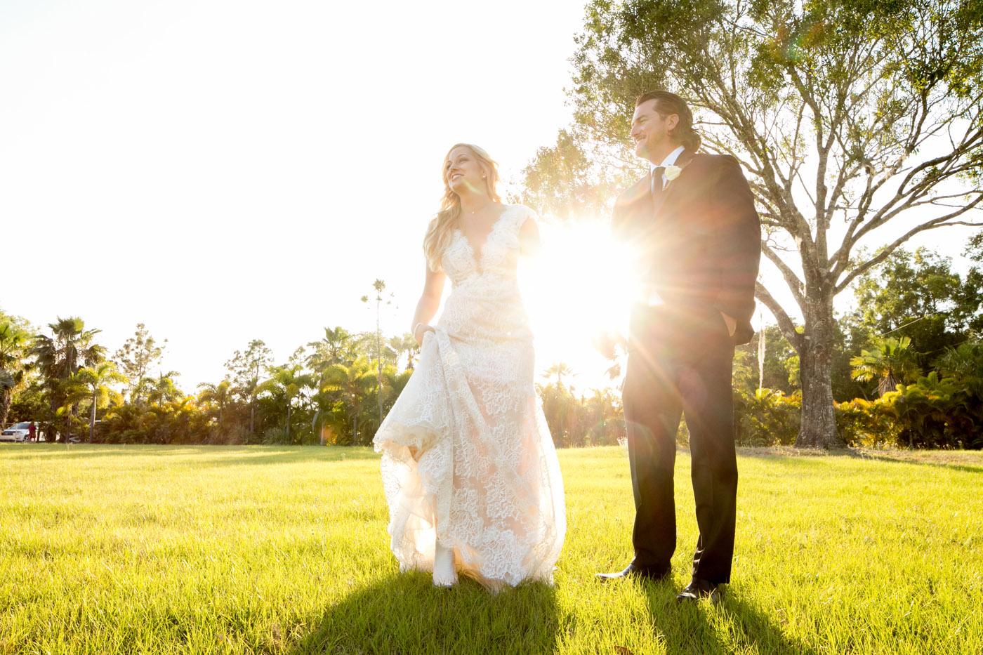 Rustic Outdoor Wedding in Jupiter | Sara Kauss Photography