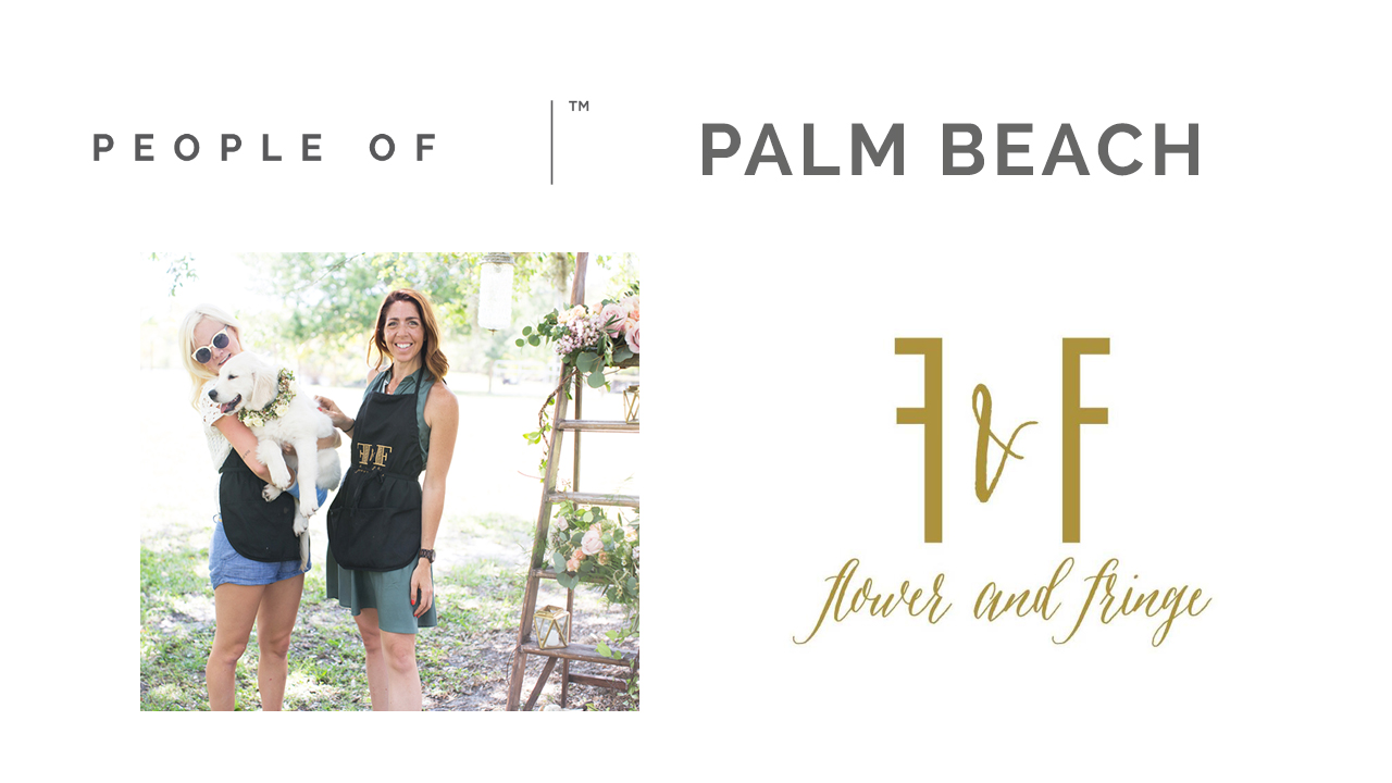 Flower and Fringe | People Of Palm Beach by Sara Kauss